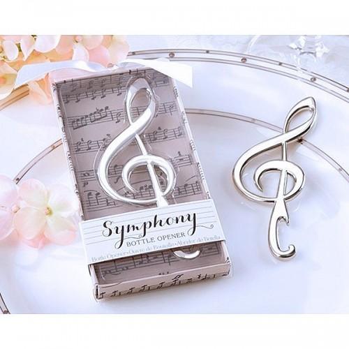 Destapador signo musical- recuerdos de matrimonio