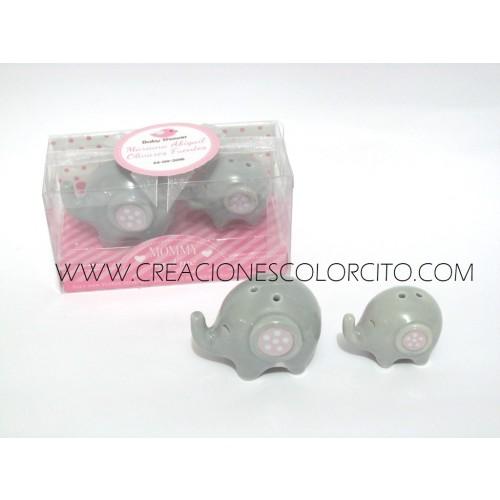 Salero elefante (rosado)
