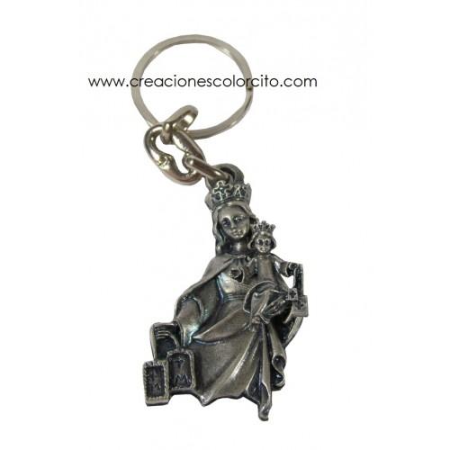 Llavero Virgen de Carmen