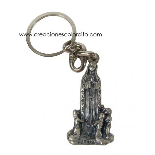 Llavero Virgen de Fatima