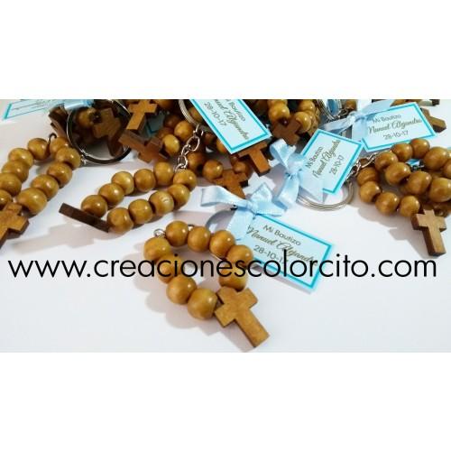 Llavero denario madera (marron)