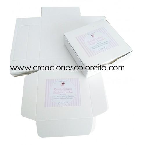 Caja torta (rosado)