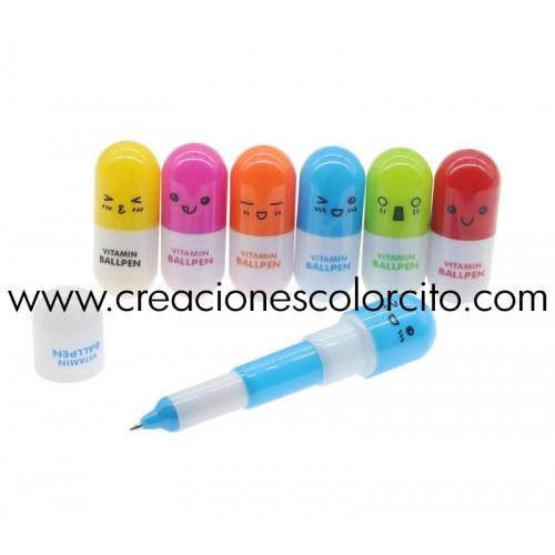 Sorpresas infantiles lapicero capsula
