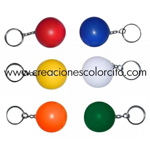 Llavero pelota colores