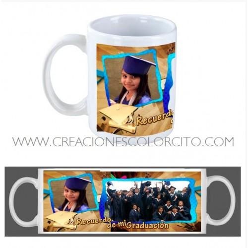 Tazas personalizadas - recuerdos de graduacion promocion